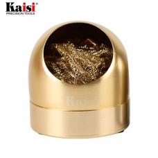 KAISI limpiador de alambre para puntas dorada