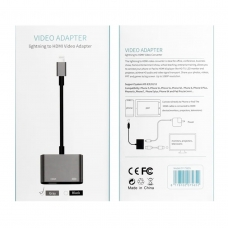 7565S VIDEO ADAPTER LIGHTNING TO HDMI GRIS