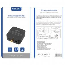ONTEN OTN-37506 Conversor de audio digital Toslink /Coaxial a R/L