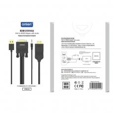ONTEN OTN-5152 Adaptador VGA a HDMI con audio