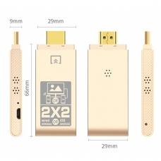 ONTEN OTN-7573 Adaptador de espejo HDTV inalámbrico ISO y ANDROID y con cable
