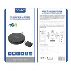 ONTEN OTN-7576 Adaptador Pantalla de inicio inalámbrica HD de doble frecuencia 5G