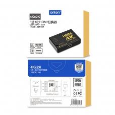ONTEN OTN-7539 Cable Lightning / USB-C + Micro USB a HDMI