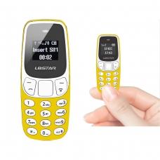 BM10 WIRELESS DIALER MINI PHONE AMARILLA