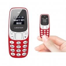 BM10 WIRELESS DIALER MINI PHONE ROJO