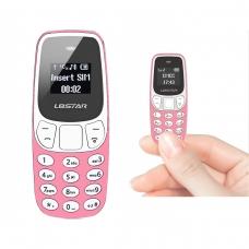 BM10 WIRELESS DIALER MINI PHONE ROSA
