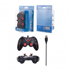 ONE PLUS K3231 Mando con Cable para PS3 Negro