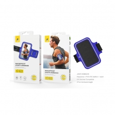 "ONE PLUS JO507 Funda armband para movil 6-6.5"" pulgadas azul"