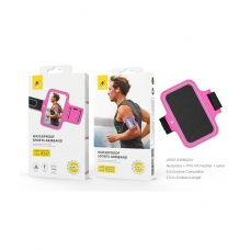 "ONE PLUS JO507 Funda armband para movil 6-6.5"" pulgadas rosa"