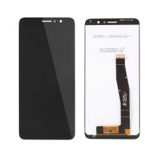 Pantalla completa compatible para Alcatel 3L/OT5034 negra