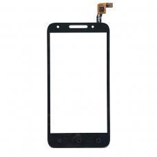 Pantalla tactil compatible para Alcatel U5 4G/OT5044 negra
