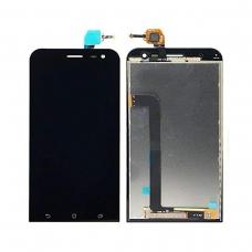 Pantalla completa compatible para Asus Zenfone 2 Laser ZE500KL negra