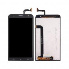 Pantalla completa compatible para Asus Zenfone 2 Laser ZE550KL negra