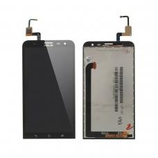 Pantalla completa compatible para Asus Zenfone 2 Laser ZE600KL negra