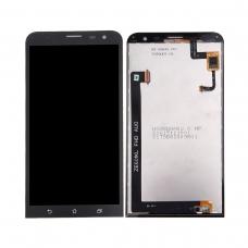 Pantalla completa compatible para Asus Zenfone 2 Laser ZE601KL negra