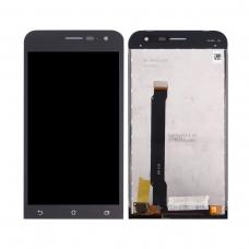 Pantalla completa compatible para Asus Zenfone 2 ZE500CL negra