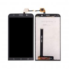 Pantalla completa compatible para Asus Zenfone 2 ZE550ML negra