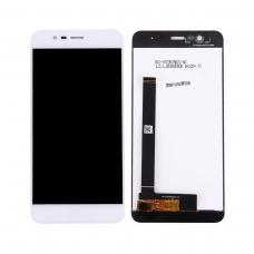 Pantalla completa compatible para Asus Zenfone 3 Max ZC520TL blanca