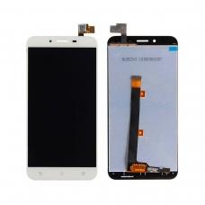 Pantalla completa compatible para Asus Zenfone 3 Max ZC553KL blanca