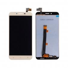 Pantalla completa compatible para Asus Zenfone 3 Max ZC553KL dorada