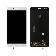 Pantalla completa compatible para Asus Zenfone 3 Zoom ZE553KL blanca