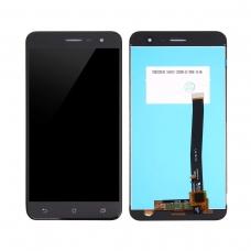 Pantalla completa compatible para Asus Zenfone 3 ZE520KL negra