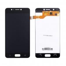 Pantalla completa compatible para Asus Zenfone 4 Max ZC520KL negra