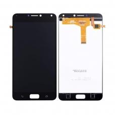 Pantalla completa compatible para Asus Zenfone 4 Max ZC554KL/X001D negra