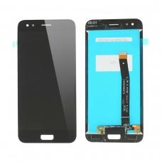 Pantalla completa compatible para Asus Zenfone 4 ZE554KL negra