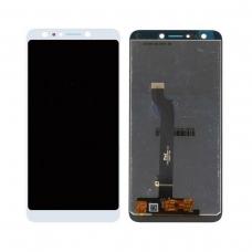 Pantalla completa compatible para Asus Zenfone 5 Lite ZC600KL blanca