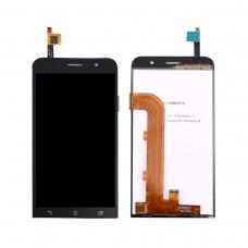 Pantalla completa compatible para Asus Zenfone GO ZB500KL/X00AD negra