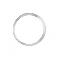 Anillo metálico blanco de cámara trasera para iPhone 11 Pro/iPhone 11 Pro Max