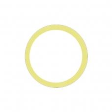 Anillo metálico amarillo de cámara trasera para iPhone 11