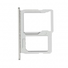 Bandeja de tarjeta SIM y Micro SD plateada para LG G5 H850/G5 SE H840