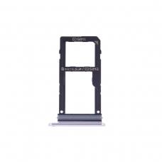 Bandeja Dual SIM/SD plateada para LG V30 H930