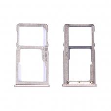 Bandeja dual SIM/tarjetas SD dorada para Meizu M6 Note M721H