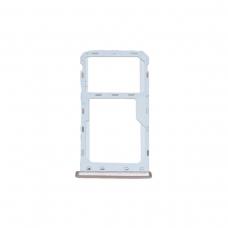 Bandeja dual SIM/SD dorada para Meizu Meizu M6 M711H