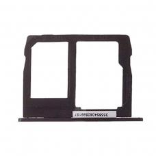 Bandeja SIM/Micro SD negra para Motorola Moto G5S Plus XT1803