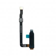 Botón home con lector de huellas negro para Motorola G6 Plus XT1926-3
