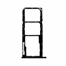 Bandeja Dual SIM/SD negra para Motorola moto G7 Power XT1955