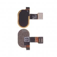 Botón de lector de huellas negro para Motorola Moto E4 XT1764/Moto E4 Plus XT1771