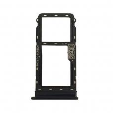 Bandeja SIM negra para Motorola Moto G8 XT2045