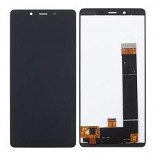 Pantalla completa original reparada para Nokia 1 Plus negra