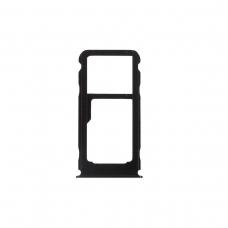 Bandeja Dual SIM negra para Nokia 3.1 Plus