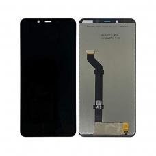 Pantalla completa original reparada para Nokia 3.1 Plus negra