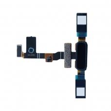 Botón negro con lector de huella para Nokia 8