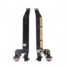 Cable flex con conector USB tipo C de carga  datos y accesorios y conector audio Jack para One Plus 5T/1+5T