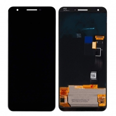 Pantalla completa para Google Pixel 3A XL negra