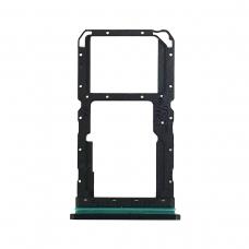 Bandeja Dual SIM/SD negra para Oppo Reno 2
