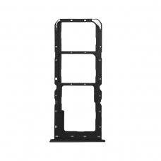 Bandeja Dual SIM/SD negra para Oppo Reno 2Z/Reno 2 Z